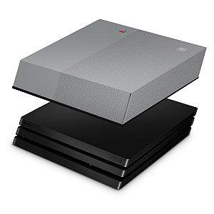 PS4 Pro Capa Anti Poeira - Retrô Edition