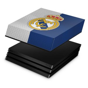 PS4 Pro Capa Anti Poeira - Real Madrid