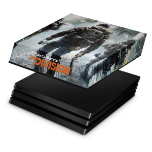 PS4 Pro Capa Anti Poeira - Tom Clancy's The Division