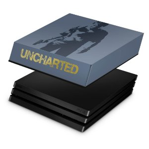 PS4 Pro Capa Anti Poeira - Uncharted 4 Limited Edition