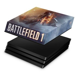 PS4 Pro Capa Anti Poeira - Battlefield 1