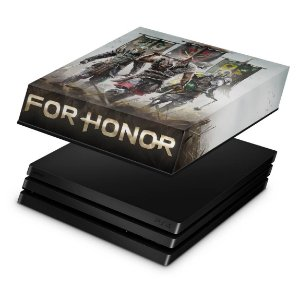 PS4 Pro Capa Anti Poeira - For Honor