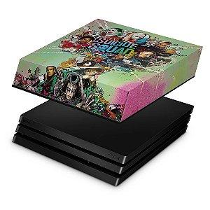 PS4 Pro Capa Anti Poeira - Esquadrão Suicida #B