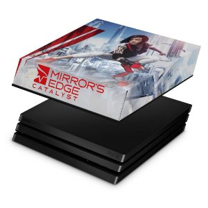 PS4 Pro Capa Anti Poeira - Mirror's Edge Catalyst