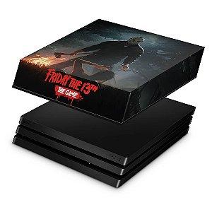 PS4 Pro Capa Anti Poeira - Friday the 13th The game Sexta-Feira 13