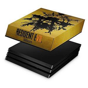 PS4 Pro Capa Anti Poeira - Resident Evil 7: Biohazard