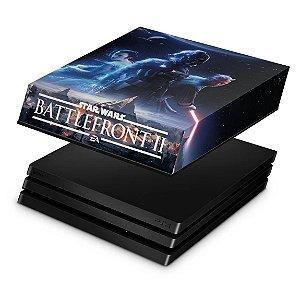 PS4 Pro Capa Anti Poeira - Star Wars - Battlefront 2