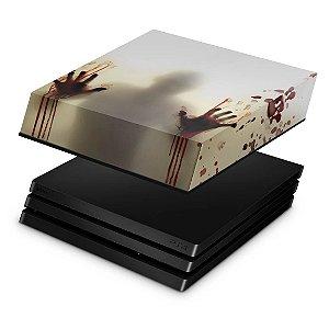 PS4 Pro Capa Anti Poeira - Fear The Walking Dead