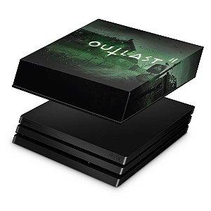 PS4 Pro Capa Anti Poeira - Outlast 2