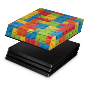 PS4 Pro Capa Anti Poeira - Lego peça