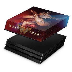 PS4 Pro Capa Anti Poeira - Mulher Maravilha