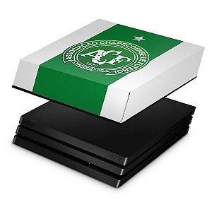 PS4 Pro Capa Anti Poeira - Chapecoense Chape