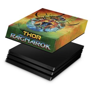 PS4 Pro Capa Anti Poeira - Thor Ragnarok