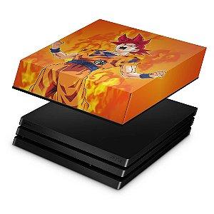PS4 Pro Capa Anti Poeira - Dragon Ball Super Goku