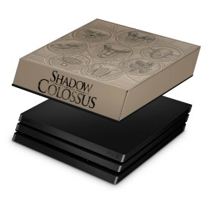 PS4 Pro Capa Anti Poeira - Shadow Of The Colossus