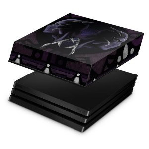PS4 Pro Capa Anti Poeira - Pantera Negra