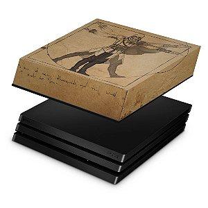 PS4 Pro Capa Anti Poeira - Assassin's Creed Vitruviano