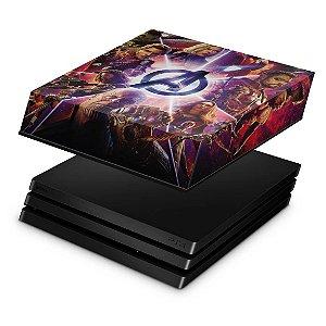 PS4 Pro Capa Anti Poeira - Os Vingadores: Guerra Infinita