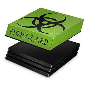 PS4 Pro Capa Anti Poeira - Biohazard Radioativo