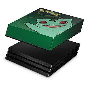 PS4 Pro Capa Anti Poeira - Pokemon Bulbasaur