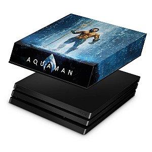 PS4 Pro Capa Anti Poeira - Aquaman