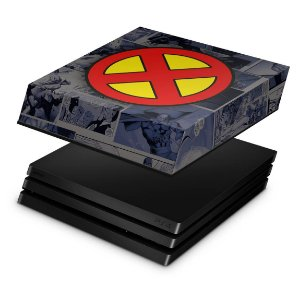 PS4 Pro Capa Anti Poeira - X-Men Comics