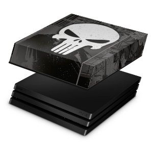 PS4 Pro Capa Anti Poeira - The Punisher Justiceiro Comics
