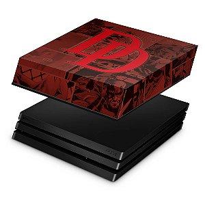 PS4 Pro Capa Anti Poeira - Daredevil Demolidor Comics