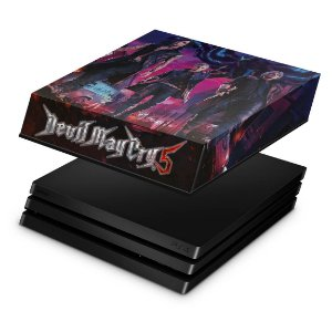 PS4 Pro Capa Anti Poeira - Devil May Cry 5