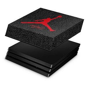 PS4 Pro Capa Anti Poeira - Air Jordan Flight