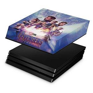 PS4 Pro Capa Anti Poeira - Vingadores Ultimato Endgame