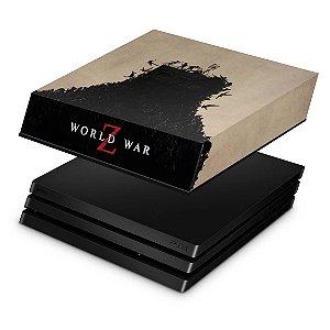 PS4 Pro Capa Anti Poeira - World War Z