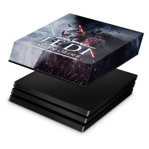 PS4 Pro Capa Anti Poeira - Star Wars Jedi Fallen Order