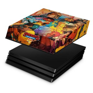 PS4 Pro Capa Anti Poeira - Streets of Rage 4