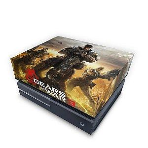 Xbox One Fat Capa Anti Poeira - Gears of War