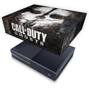 Xbox One Fat Capa Anti Poeira - Call of Duty Ghosts