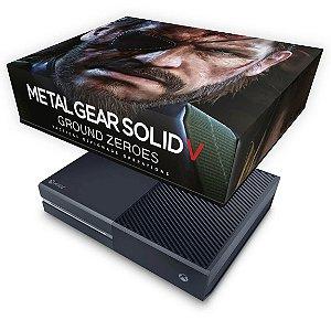 Xbox One Fat Capa Anti Poeira - Metal Gear Solid V