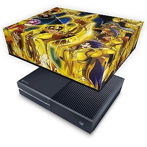 Xbox One Fat Capa Anti Poeira - Cavaleiros do Zodiaco