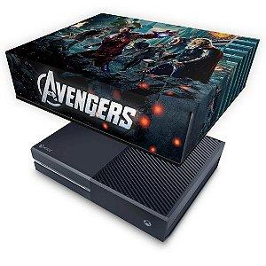 Xbox One Fat Capa Anti Poeira - The Avengers - Os Vingadores