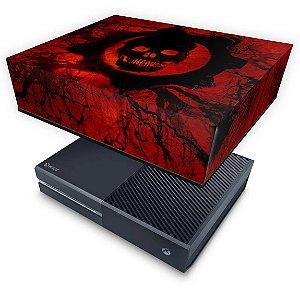 Xbox One Fat Capa Anti Poeira - Gears of War - Skull