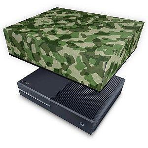 Xbox One Fat Capa Anti Poeira - Camuflagem Verde