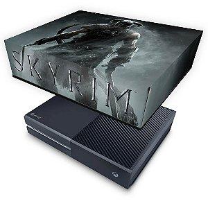 Xbox One Fat Capa Anti Poeira - Skyrim