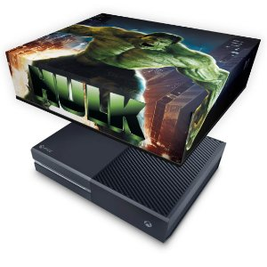 Xbox One Fat Capa Anti Poeira - Hulk