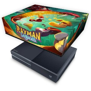 Xbox One Fat Capa Anti Poeira - Rayman Legends
