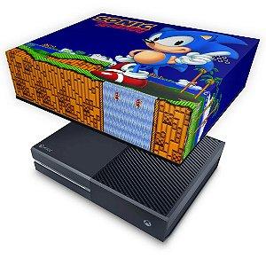 Xbox One Fat Capa Anti Poeira - Sonic The Hedgehog
