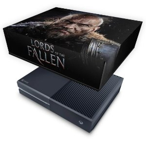 Xbox One Fat Capa Anti Poeira - Lords of the Fallen