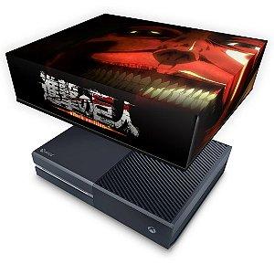 Xbox One Fat Capa Anti Poeira - Attack on Titan #B