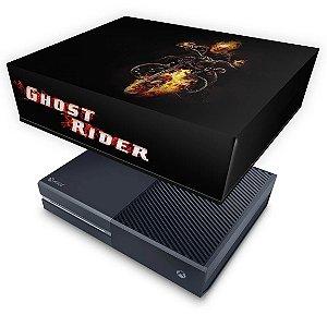 Xbox One Fat Capa Anti Poeira - Ghost Rider - Motoqueiro Fantasma #A