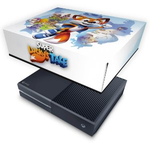 Xbox One Fat Capa Anti Poeira - Super Lucky's Tale