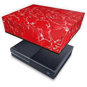 Xbox One Fat Capa Anti Poeira - Aquático Água Vermelha